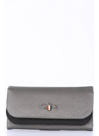 Polo Racouet Club Clutch / El Çantası Gri